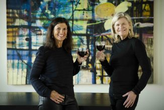Wine Auction Co-Chairs by Martha McGuinness