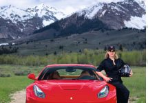 The Sun Valley Tour de Force Driver Linda Briggs, and the Lure of Supercars